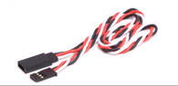 TWISTED EXTENSION LEAD 300MM (FUTABA STYLE)