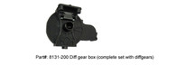 DHK 8131-200 Diff gear box  (complete set with diffgears)