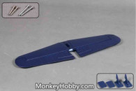 1400mm FMS F4U Corsair V3 SV104 Horizontal Stabilizer Blue
