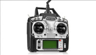 "Flysky FS-T6 2.4GHz 6-CH 2.9"" LCD TX Transmitter + RX Receiver Radio Control System - Black (8 x AA)"