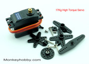 Metal gear analog servo XQ-S3015M waterproof and high torque