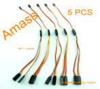 AMASS 30cm 22AWG JR Y leads, flat wire AM-3003-5 (5pcs/bag)