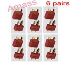 Amass Anti-slip Dean plug female & male ( 6 pairs)