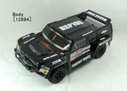 HSP 94128 DAKAR H100, 1/10 Trophy Truck,Black Body:12894