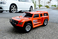 HSP DAKAR H100, 1/10 94128 Trophy Brushless Truck PRO, Orange Body:12891