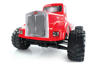 HIMOTO Road Warrior 1:10 SCALE RTR 4WD ELECTRIC POWER MONSTER TRUCK BIG PETE W/2.4G REMOTE BRUSHLESS VERSION Red 31901