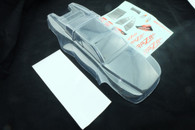 DHK 8132-002C Raz-R 1/10 4WD Clear body for buggy 8132 (PVC with window cutout and body decals)