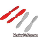 UDI U841-04 Propellers Props Blades Rotors RC Quadcopter red or black