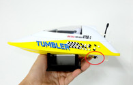 Volantex RC TW 796-1 Tumbler Auto-roll-back Pool Racer shaft hole 2mm propeller (2pcs)