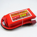 GIANT POWER LC-3S1300D LIPO 1300mAh 11.1V 30C DEANS