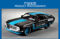 Meritor Figure maisto1970 Ford Mustang sports car model simulation alloy car models 1:24 Factory