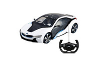 RASTAR 49600 1:14 Scale Authorized BMW i8 RC Racing Car Model