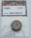 Vkar Bison V1 and 1/10 V.4B BUGGY Bevel Gear 43T MA307