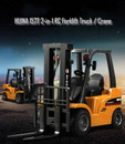 HUINA 1577 1/10 2-in-1 RC Forklift Truck / Crane RTR 2.4GHz 8CH / 360 Degree Rotation