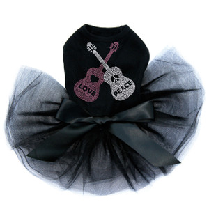 Guitars with Love & Peace Tutu