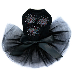 Freworks - Cluster of Three dog tutu for large and small dogs.