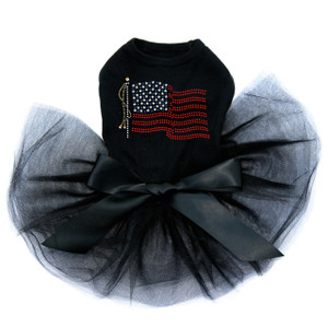 USA Flag dog tutu for large and small dogs.