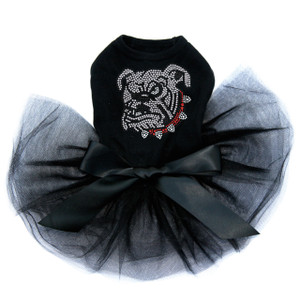 Bulldog Face White - Tutu for Big and Little Dogs