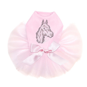 Horse Face (Brown Rhinestuds) Tutu