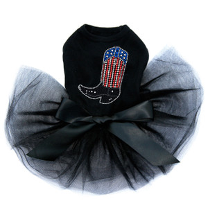 Boot (Red, White, & Blue) Tutu