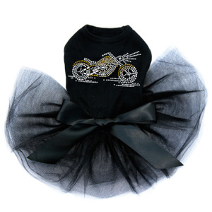Motorcycle - Small Gold Tutu