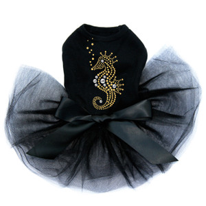 Seahorse - Nailhead  Tutu for big and small dogs