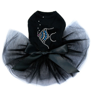 Angel Fish - Blue  Tutu for big and small dogs