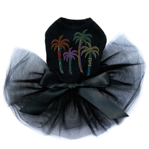 Palm Trees - Multicolor Tutu for big and small dogs