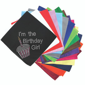 I'm the Birthday Girl - Bandanna
