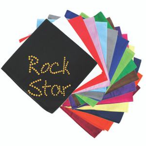 Rock Star (Gold) - Bandanna