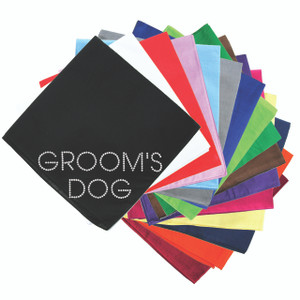 Groom's Dog - Bandanna