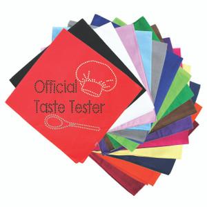 Official Taste Tester - Bandanna