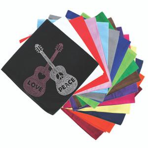 Guitars with Love & Peace - Bandanna