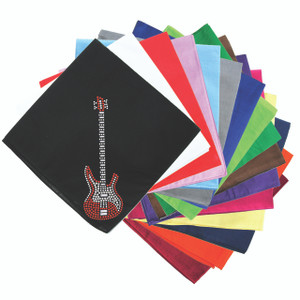 Guitar (Red Swarovski) - Bandanna