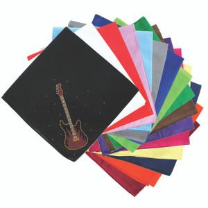 Guitar (Red & Gold) - Bandanna