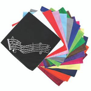 Music Notes - Bandanna