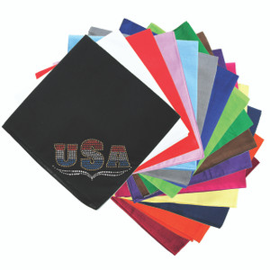 USA - Tricolor - Bandanna