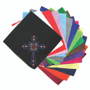 Cross (Red, White & Blue) - Bandanna