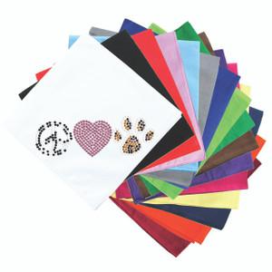 Peace, Love, Paw (Animal Print) - Bandanna