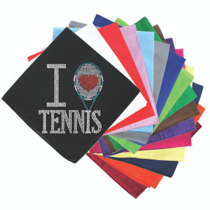 I Love Tennis - Bandanna