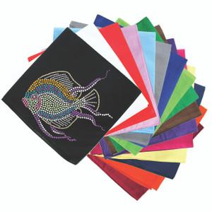Fish (Pastel Green)  - Bandanna