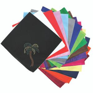 Palm Tree (Rhinestuds) - Bandanna