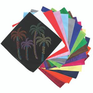 Palm Trees (Multicolor) - Bandanna