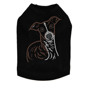 Italian Greyhound Face Dog Tank
