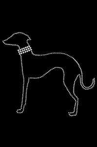 Greyhound (Outline) - Women's T-shirt