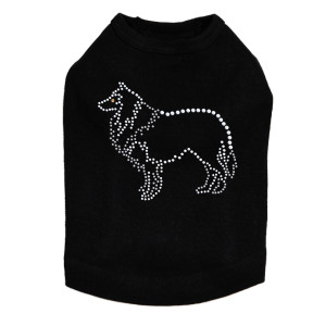 Collie Outline Dog Tank