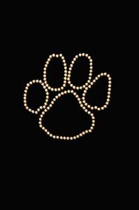 Paw (Gold Nailheads) - Women's T-shirt