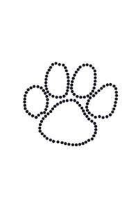 Paw (Black Nailheads) - Women's T-shirt