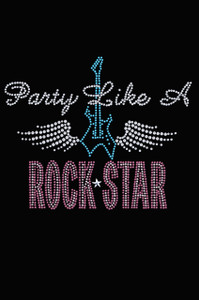 Party Like a Rock Star - Women's T-shirt