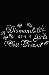 Diamonds are a Girls Best Friend #1  - Women's T-shirt